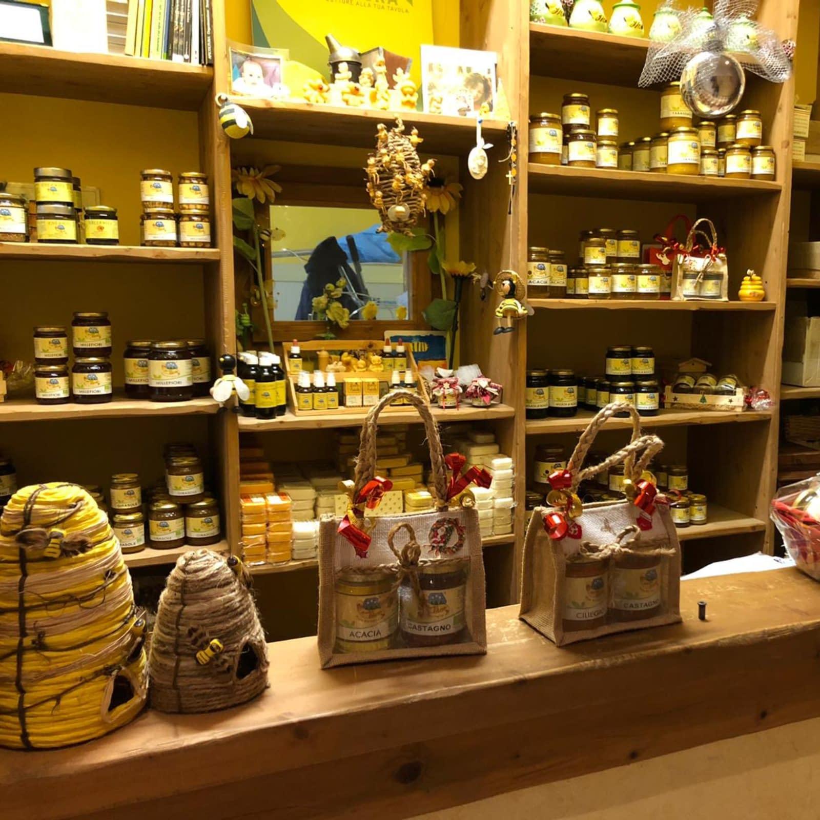 spaccio aziendale di apicoltura burato
